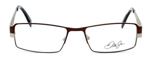 Dale Earnhardt, Jr. Designer Eyeglasses DJ6707 in Brown-Silver 52mm :: Rx Single Vision