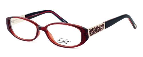 Dale Earnhardt, Jr. Designer Eyeglasses DJ6722 in Burgundy 54mm :: Rx Single Vision