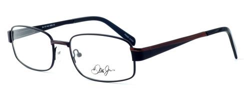 Dale Earnhardt, Jr. Designer Eyeglasses DJ6736 in Brown 54mm :: Rx Single Vision