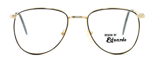 Regency International Designer Reading Glasses Dover in Gold Grey 55mm