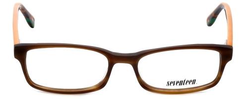Seventeen Designer Eyeglasses SV5394-BRN in Brown 51mm :: Custom Left & Right Lens