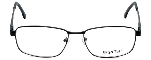 Big and Tall Designer Eyeglasses Big-And-Tall-16-Black in Black 59mm :: Custom Left & Right Lens