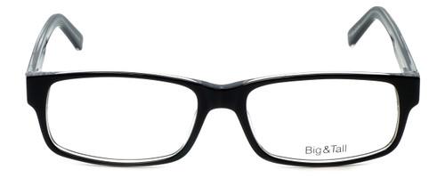 Big and Tall Designer Eyeglasses Big-And-Tall-3-Black-Crystal in Black Crystal 60mm :: Custom Left & Right Lens