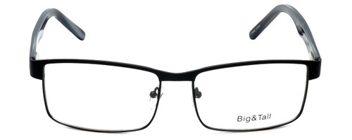 Big and Tall Designer Eyeglasses Big-And-Tall-15-Matte-Black in Matte Black 60mm :: Progressive