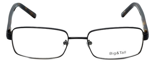 Big and Tall Designer Eyeglasses Big-And-Tall-1-Black in Black 60mm :: Progressive