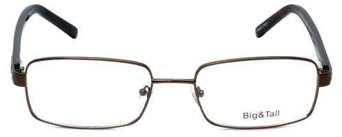 Big and Tall Designer Eyeglasses Big-And-Tall-1-Brown in Brown 60mm :: Progressive