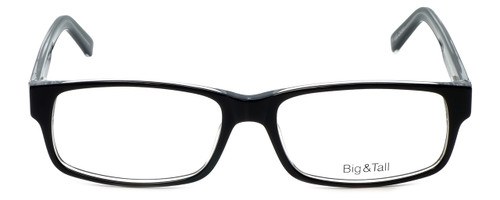 Big and Tall Designer Eyeglasses Big-And-Tall-3-Black-Crystal in Black Crystal 60mm :: Progressive