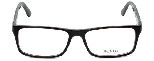 Big and Tall Designer Eyeglasses Big-And-Tall-8-Demi-Grey in Demi Grey 59mm :: Progressive
