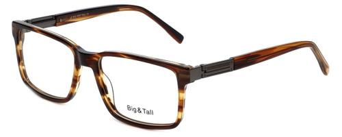 Big and Tall Designer Eyeglasses Big-And-Tall-14-Demi-Brown in Demi Brown 58mm :: Rx Bi-Focal