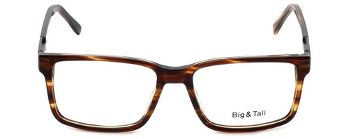 Big and Tall Designer Eyeglasses Big-And-Tall-14-Demi-Brown in Demi Brown 58mm :: Rx Bi-Focal