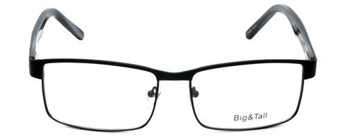 Big and Tall Designer Eyeglasses Big-And-Tall-15-Matte-Black in Matte Black 60mm :: Rx Bi-Focal