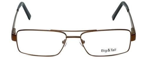 Big and Tall Designer Eyeglasses Big-And-Tall-2-Brown-Black in Brown Black 60mm :: Rx Bi-Focal