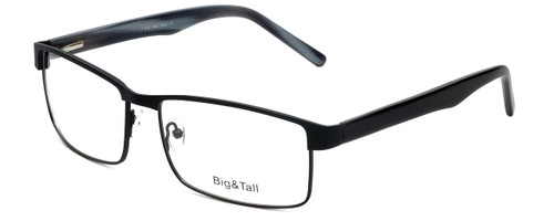 Big and Tall Designer Reading Glasses Big-And-Tall-15-Matte-Black in Matte Black 60mm