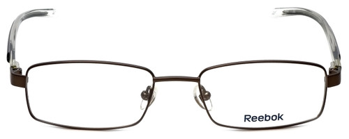 Reebok Optical Designer Reading Glasses R1007-GBK in Gunmetal Black Crystal
