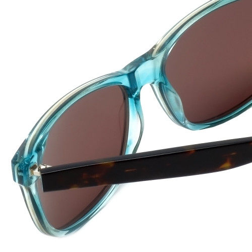XOXO Designer Sunglasses AX00010 in Blue or Smoke Grey with Amber Brown Lenses