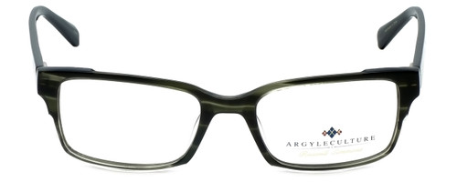 Argyleculture Designer Eyeglasses Campbell in Black 54mm :: Rx Single Vision