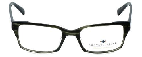 Argyleculture Designer Eyeglasses Campbell in Black 54mm :: Progressive