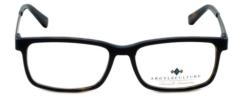 Argyleculture Designer Reading Glasses Mack in Black Tortoise 55mm