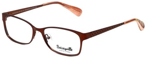 Betsey Johnson Designer Eyeglasses Gingham BV106-02 in Bronze 51mm :: Custom Left & Right Lens