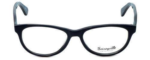 Betsey Johnson Designer Eyeglasses Fishnet BV108-05 in Blue 53mm :: Rx Single Vision