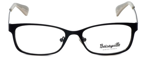 Betsey Johnson Designer Eyeglasses Gingham BV106-01 in Raven 51mm :: Rx Bi-Focal