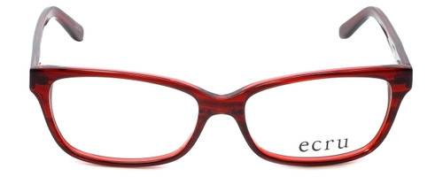 Ecru Designer Eyeglasses Beck-005 in Red 53mm :: Custom Left & Right Lens