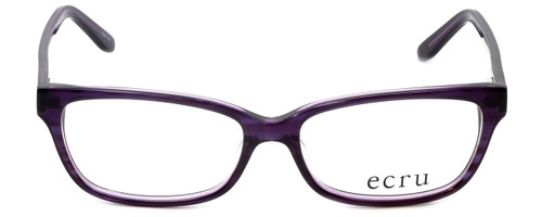 Ecru Designer Eyeglasses Beck-006 in Purple 53mm :: Custom Left & Right Lens