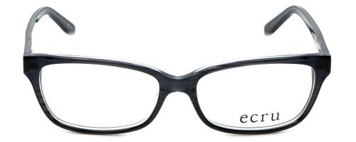 Ecru Designer Eyeglasses Beck-023 in Black 53mm :: Custom Left & Right Lens