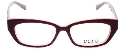 Ecru Designer Eyeglasses Bowie-001 in Wine 50mm :: Custom Left & Right Lens