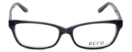 Ecru Designer Reading Glasses Beck-023 in Black 53mm
