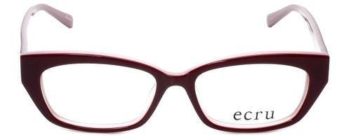 Ecru Designer Reading Glasses Bowie-001 in Wine 50mm