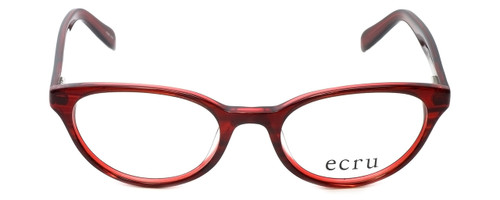 Ecru Designer Eyeglasses Daltrey-005 in Red 50mm :: Custom Left & Right Lens