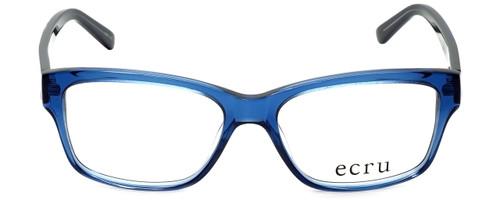 Ecru Designer Eyeglasses Collins-038 in Blue 53mm :: Rx Single Vision