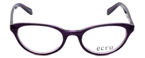 Ecru Designer Eyeglasses Daltrey-006 in Purple 50mm :: Rx Single Vision