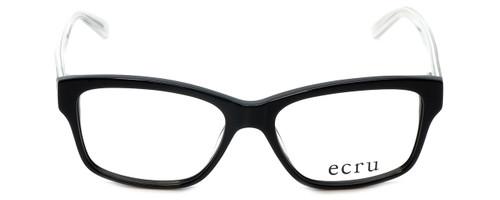 Ecru Designer Reading Glasses Collins-036 in Black 53mm
