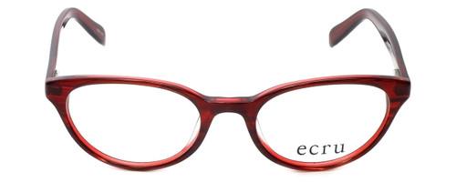 Ecru Designer Reading Glasses Daltrey-005 in Red 50mm