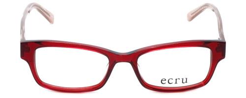 Ecru Designer Reading Glasses Stefani-030 in Lipstick 50mm
