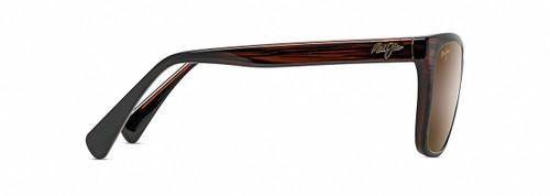 Maui Jim Jacaranda in Brown Stripe & Bronze Polarized Sunglasses