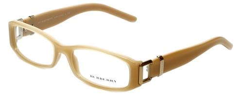 Burberry Designer Eyeglasses B2053-3019 in Beige 50mm :: Custom Left & Right Lens