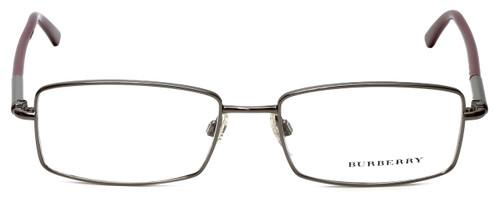 Burberry Designer Eyeglasses B1239-1003 in Gunmetal 54mm :: Rx Single Vision