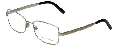 Burberry Designer Eyeglasses B1259-Q-1159 in Silver 52mm :: Rx Single Vision