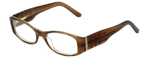 Burberry Designer Eyeglasses B2046-B-3083 in Brown 49mm :: Progressive