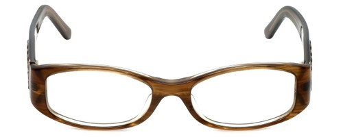 Burberry Designer Eyeglasses B2046-B-3083 in Brown 49mm :: Progressive