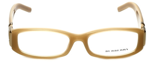 Burberry Designer Eyeglasses B2053-3019 in Beige 50mm :: Progressive
