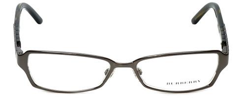 Burberry Designer Eyeglasses B1141-1057 in Dark Gunmetal 51mm :: Custom Left & Right Lens