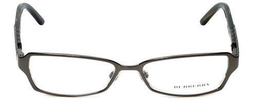 Burberry Designer Eyeglasses B1141-1057 in Dark Gunmetal 51mm :: Progressive