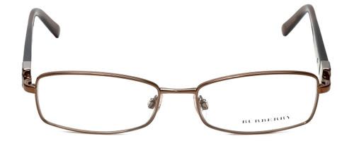 Burberry Designer Eyeglasses B1145-1016 in Gold & Brown 53mm :: Rx Bi-Focal