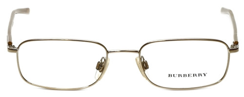 Burberry Designer Reading Glasses B1007-1002 in Gold 50mm