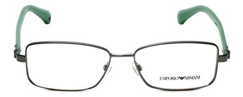 Emporio Armani Designer Eyeglasses EA1004-3010 in Gunmetal 52mm :: Custom Left & Right Lens