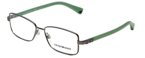 Emporio Armani Designer Eyeglasses EA1004-3010 in Gunmetal 52mm :: Rx Single Vision